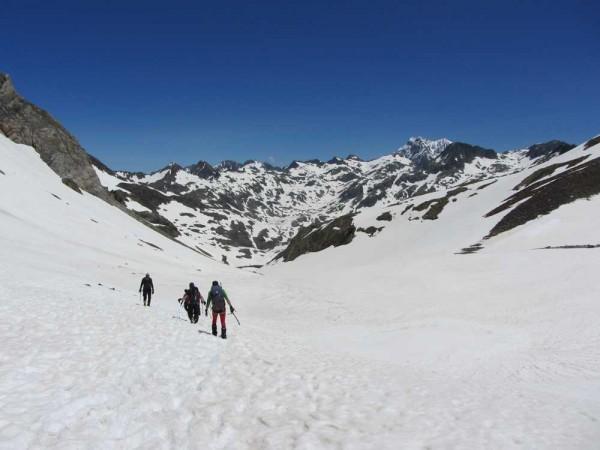 Snow on the Senda 25 June
