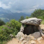Dolmen de Tella on the GR15