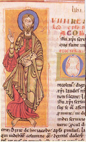 St James in the Codex Calixtinus