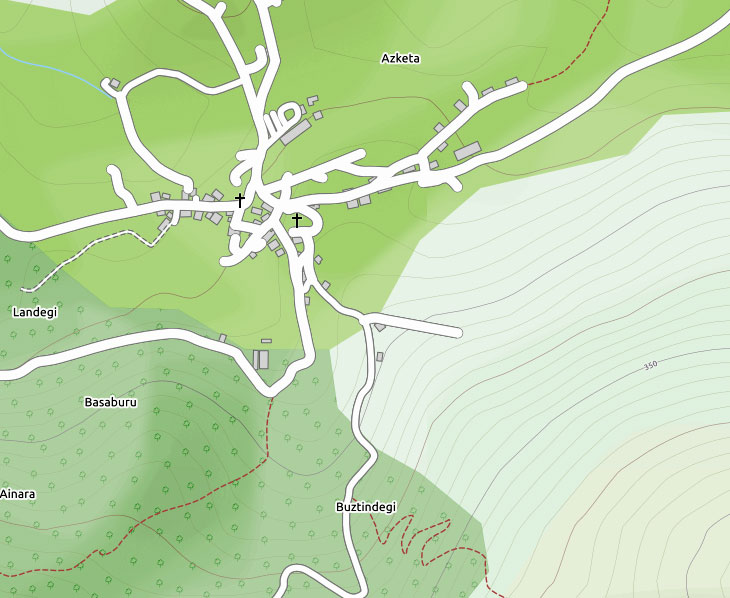 OSM map for cyclists
