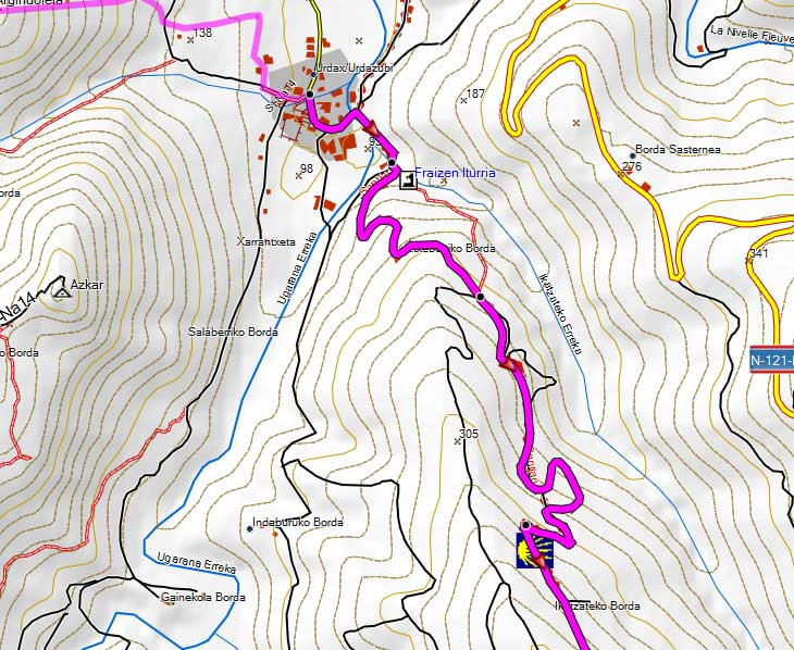 Free GPS map