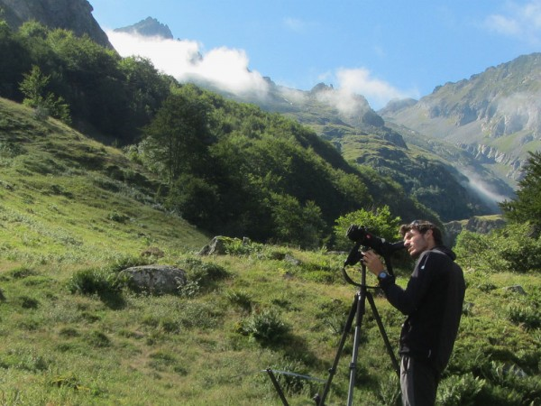 Looking for ibex in the Pyrenees