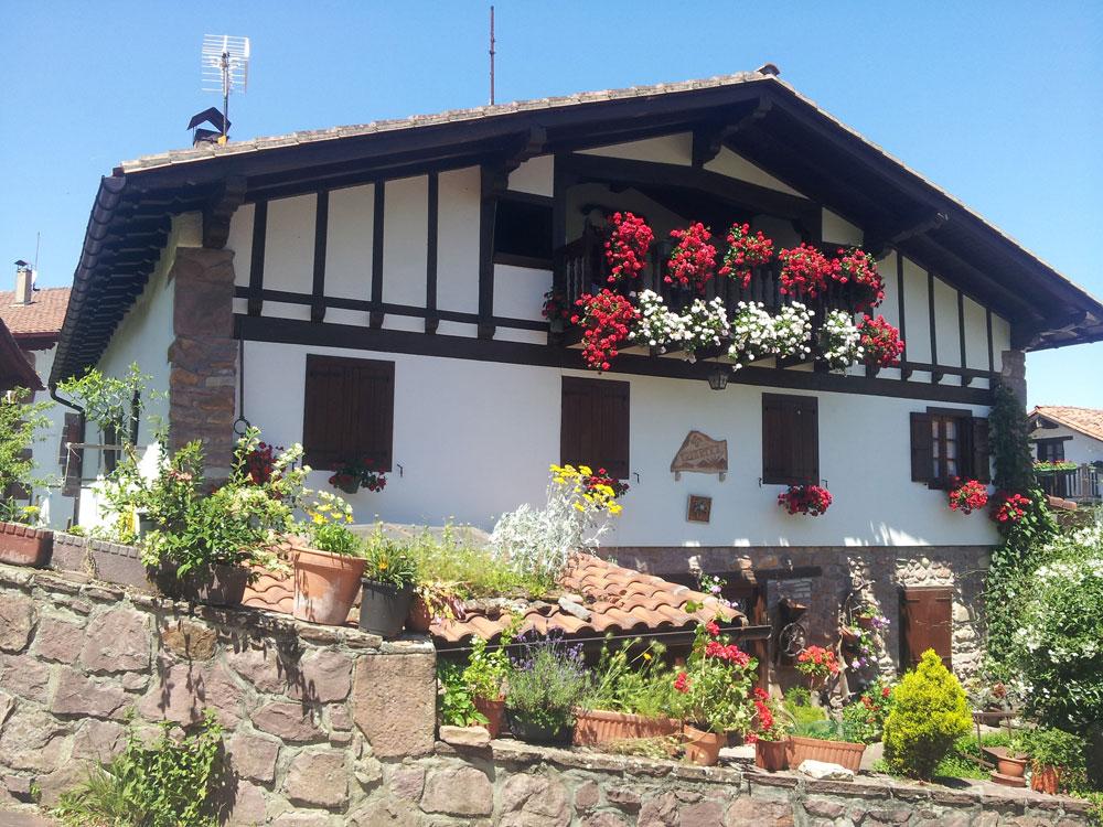 Day 3. Typically basque house in Zuggaramurdi.
