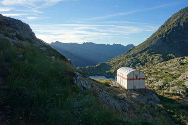 Day 36. Mont Roig hut.