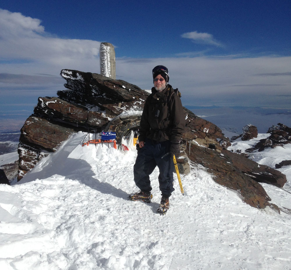 At the summit of Mulhacén 29 January 2017
