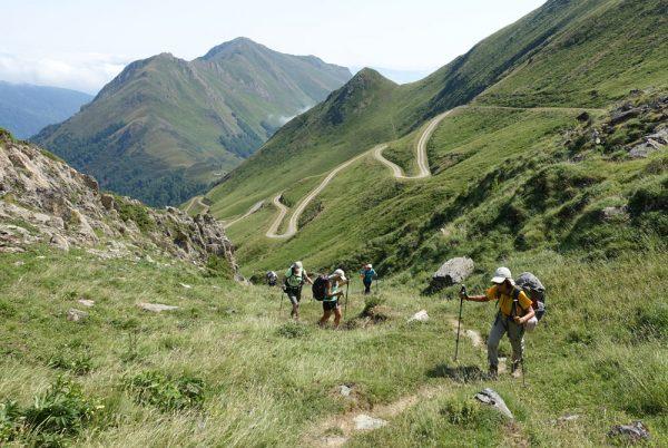 Summer pastures in Ariège, Pyrenees