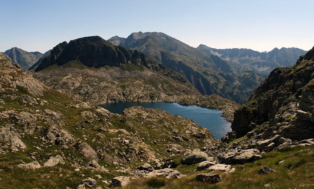 Estany de Mariola with Certascan in the background